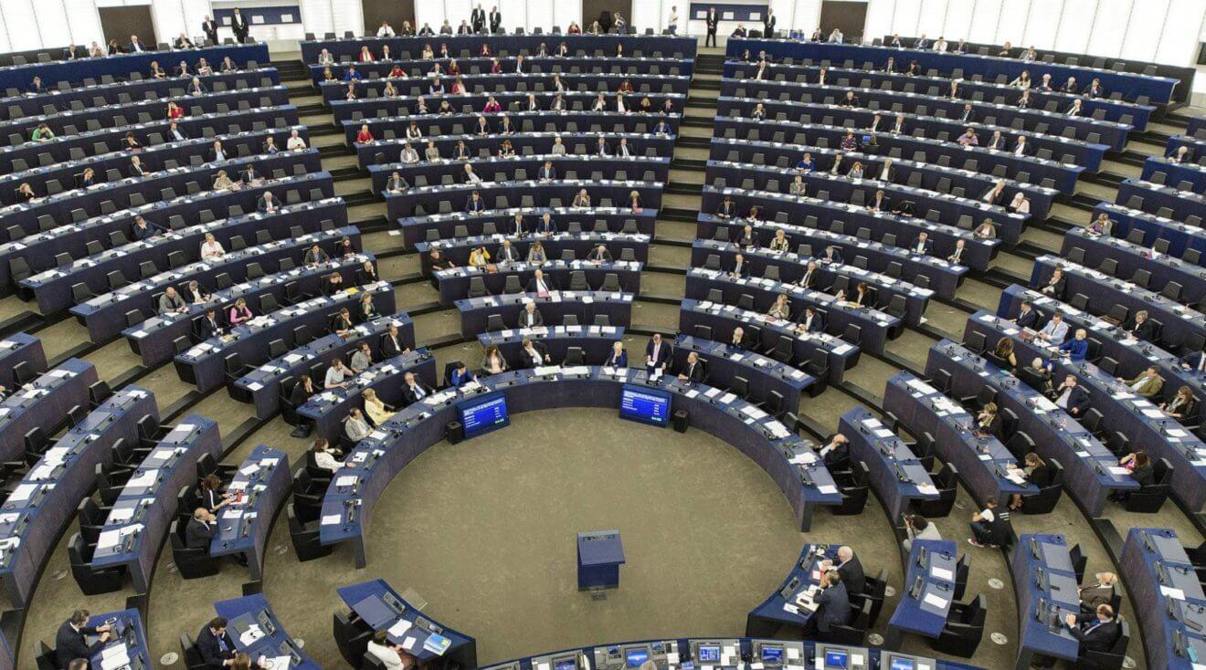 Debate en el Parlamento Europeo sobre la situación en Cataluña. PATRICK SEEGER EFE