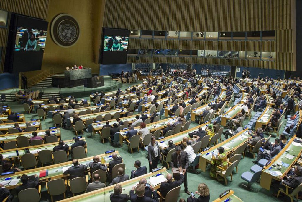 Asamblea General de la ONU. Foto de archivo: ONU/Manuel Elia