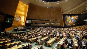 Plenario de la Asamblea General de las Naciones Unidas. Mark Lennihan Foto: AP / Vídeo: Atlas