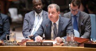 El Fiscal del Tribunal Penal Internacional para la ex Yugoslavia (ICTY), Serge Brammertz. Foto: ONU/Manuel Elías.