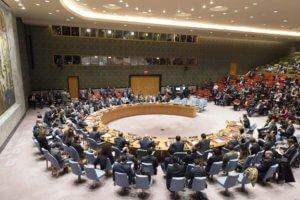 El Consejo de Seguridad en una reunión sobre la no-proliferación en Corea del Norte. Foto: UN Photo / Rick Bajornas