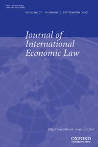 Journal of International Economic Law