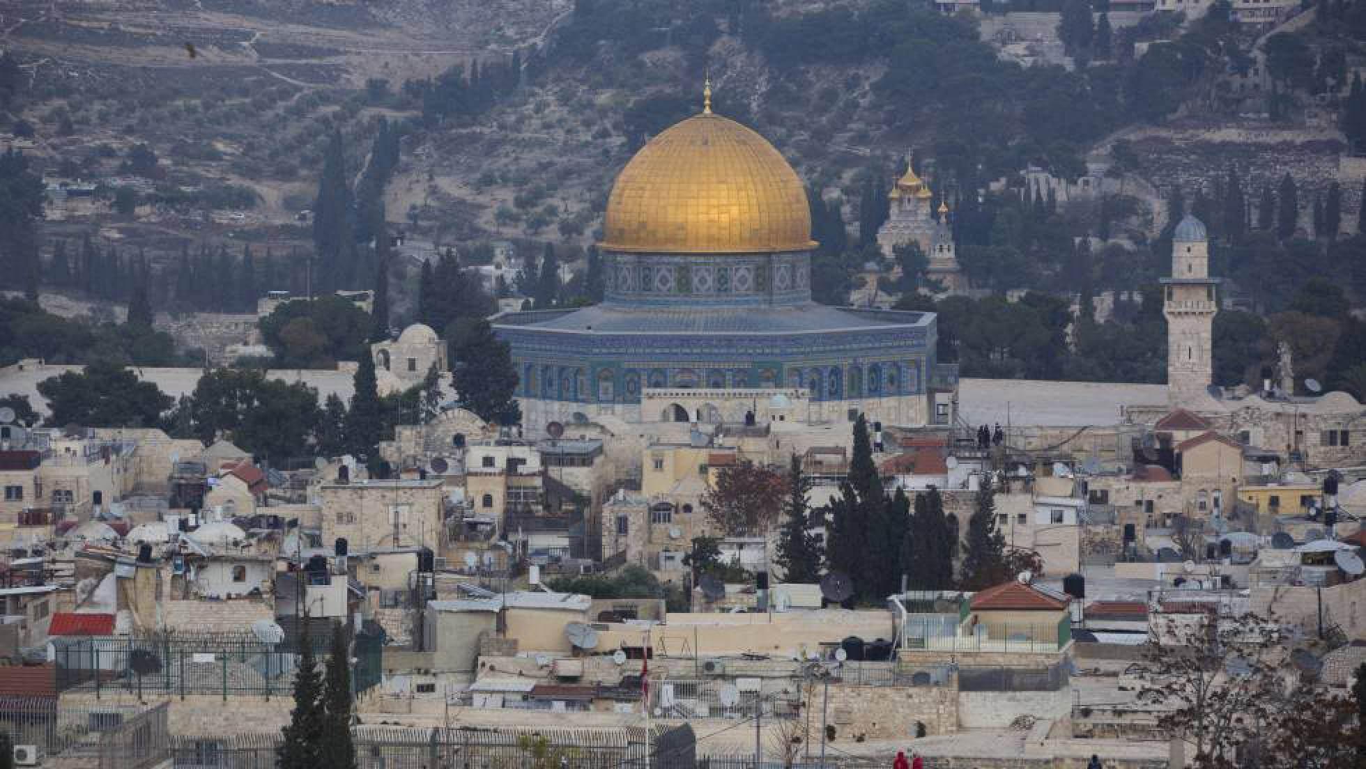 Una vista de la ciudad vieja de Jerusalén AP