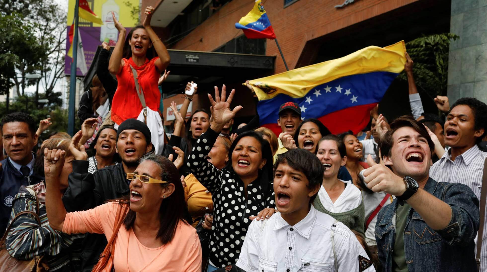 Las calles de Caracas esta semana. MARCO BELLO REUTERS