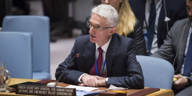 ONU/Loey Felipe - Mark Lowcock, coordinador de Asuntos Humanitarios