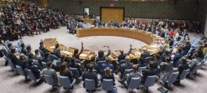 ONU/Loey Felipe El Consejo de Seguridad durante la votación de un proyecto de resolución sobre Siria.