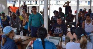 Jennifer Moreno/Misión de Verificación de la ONU Mesa de Reincorporacion de Antioquia en Vidrí.