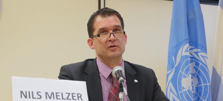 Nils Melzer, relator especial de la ONU sobre tortura, de visita en Argentina