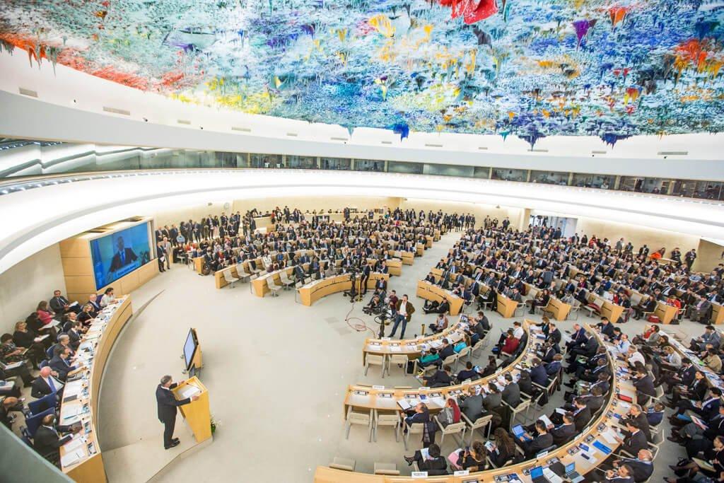 ARCHIVO: ONU/Elma Okic El Consejo de Derechos Humanos.