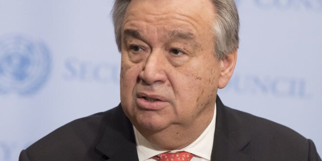 ONU/Eskinder Debebe El Secretario General de las Naciones Unidas, António Guterres.