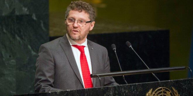 ONU/Rick Bajornas Fabián Salvioli, el Relator Especial de la ONU sobre la promoción de la verdad, la justicia, la reparación y las garantías de no repetición.
