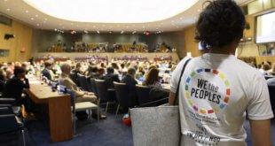 ONU/Loey Felipe La conferencia del departamento de información pública de la ONU y las ONGs.