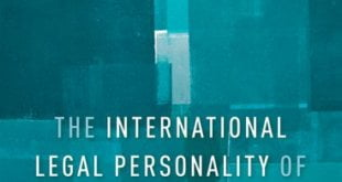 The International Legal Personality of the Individual Astrid Kjeldgaard-Pedersen
