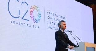 La importancia del G-20 en 2018