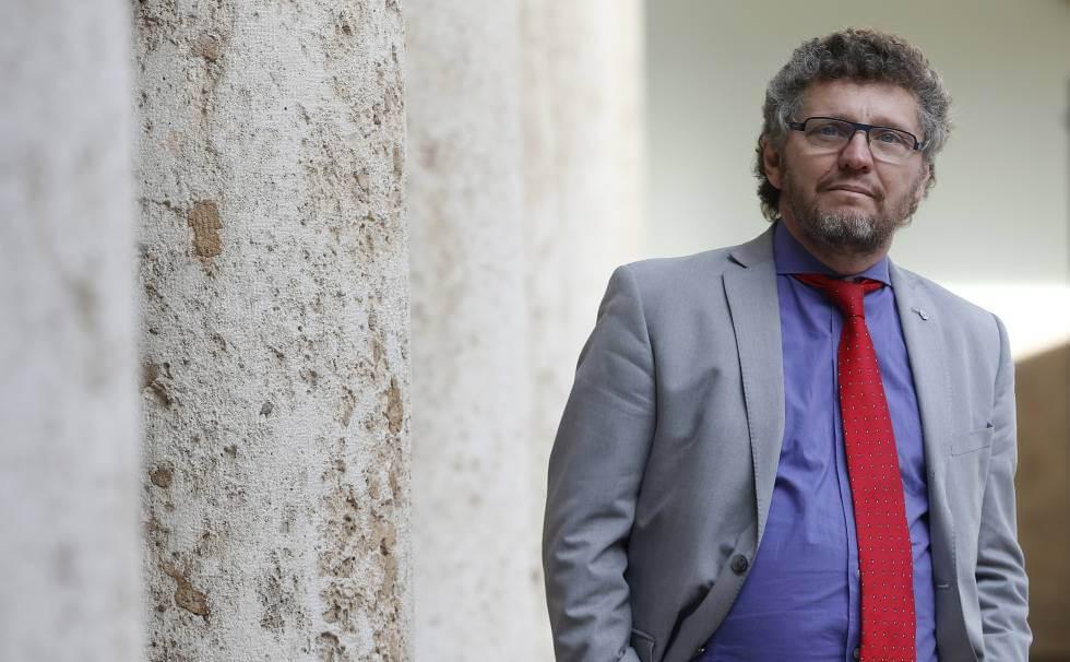Salvioli durante su participación en el congreso celebrado esta semana en Valencia. Miguel Ángel Polo