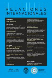 Revista Relaciones Internacionales nº 55