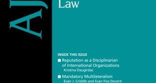 american journal of international law