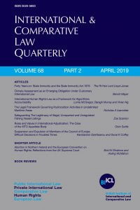 international  comparative law quarterly