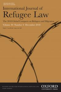 International Journal of Refugee Law - Volume 30, Issue 4, December 2018