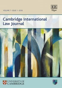 Cambridge International Law Journal