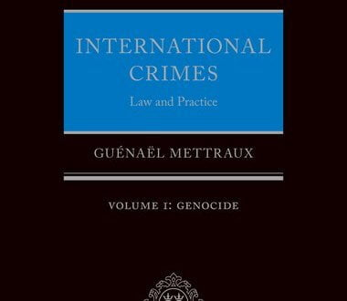International Crimes Law and Practice Volume I: Genocide