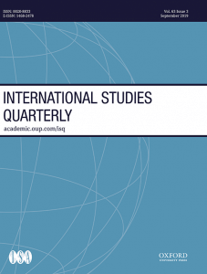 International Studies Quarterly - Volume 63, Issue 3, September 2019