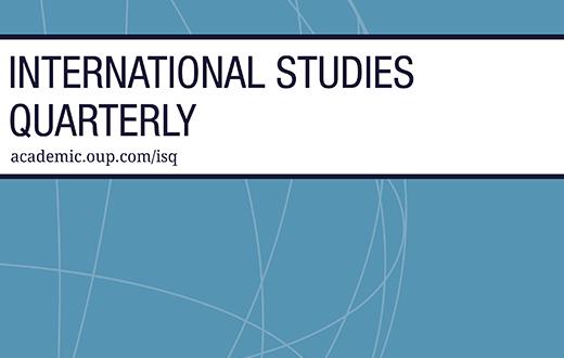 International Studies Quarterly - Volume 63, Issue 3, September 2019