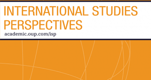 International Studies Perspectives - Volume 20, Issue 3, August 2019