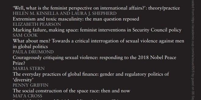 International Affairs - Volume 95, Issue 5, September 2019