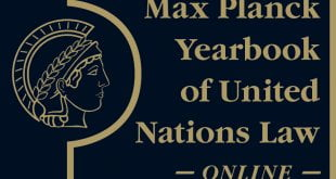 Max Planck Yearbook of United Nations Law Online - Volume 22 (2019): Issue 1 (Oct 2019)