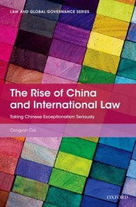 The Rise of China and International Law