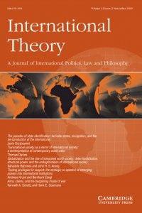 International Theory - Volume 11 / Issue 3 - November 2019