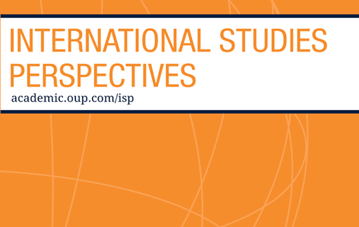 International Studies Perspectives - Volume 20, Issue 4, November 2019