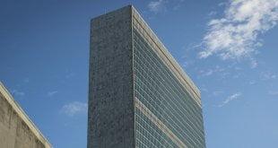 ONU/Rick Bajornas Edificio del Secretariado de las Naciones Unidas en Nueva York