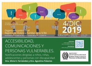 Accesibilidad, comunicaciones y personas vulnerables