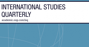 International Studies Quarterly - Volume 63, Issue 4, December 2019