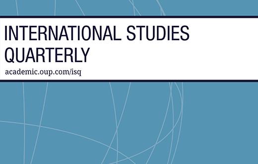 International Studies Quarterly - Volume 63, Issue 4, December 2019