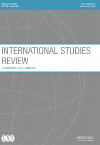 International Studies Review - Volume 21, Issue 4, December 2019