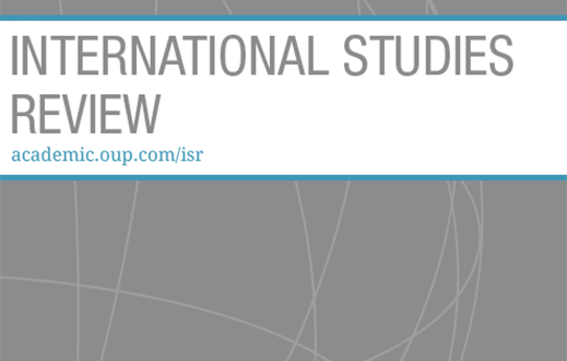 International Studies Review - Volume 21, Issue 4, December 2019