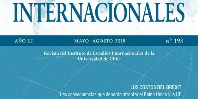 Estudios Internacionales - Vol. 51 Núm. 194 (2019): Septiembre-Diciembre