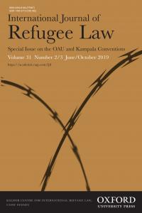 International Journal of Refugee Law - Volume 31, Issue 2-3, June/October 2019