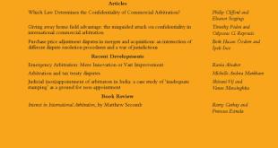 Arbitration International - Volume 35, Issue 4, December 2019