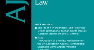 American Journal of International Law - Volume 114 - Issue 1 - January 2020