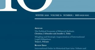 International Organization - Volume 74 - Issue 1 - Winter 2020