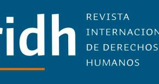 Revista Internacional de Derechos Humanos - Vol. 10, Núm. 1 (2020)