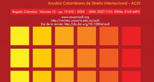 ACDI - Anuario Colombiano de Derecho Internacional - Vol. 13 (2020)