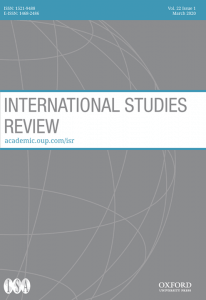 International Studies Review - Volume 22, Issue 1, March 2020