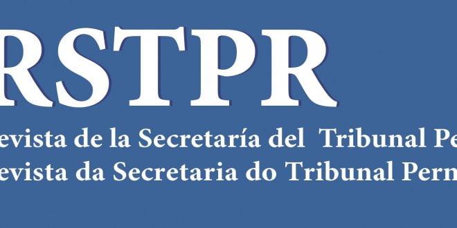 Revista de la Secretaría del Tribunal Permanente de Revisión - Año 8 - Número 15 - 2020