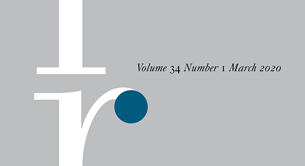 International Relations - Volume 34 Issue 1, March 2020