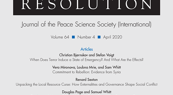 Journal of Conflict Resolution - Volume 64 Issue 4, April 2020